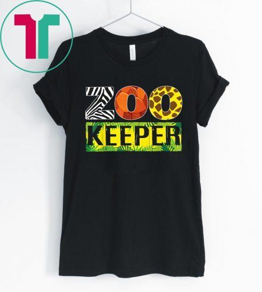 Zoo Keeper Wildlife Animal Lover T-Shirt