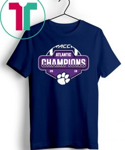 ACC Clemson Tigers Atlantic Champion 2019 Shirt