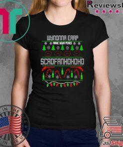 Wynonna Earp Scrofan Christmas T-Shirt