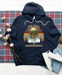 Yo Da The Child The Mandalorian Floating Pod Best Design Art Vintage T-Shirt