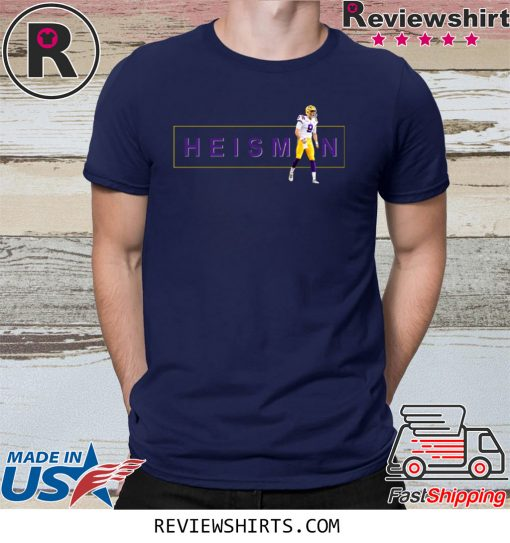 Joe Burrow Heisman 2020 T-Shirt