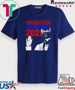 Yovanovitch for President 2020 Impeach Trump Ukraine Meme Tee Shirt