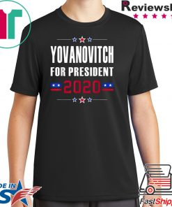 Yovanovitch for President 2020 Impeach Trump Ukraine Meme T-Shirt
