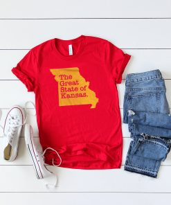 The Great State Of Kansas City Chiefs super bowl Shirt