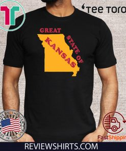The Great State of Kansas Funny Missouri Shirt