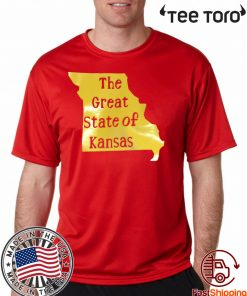 The Great State of Kansas kansas city chiefs 2020 T-Shirt