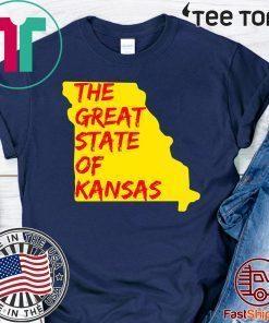 The Great State of Kansas or Missouri Shirt