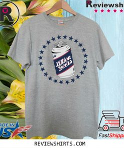 Zillion Beers Can T-Shirt
