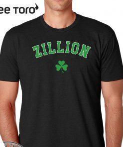 Zillion Beers Shamrock Shirt