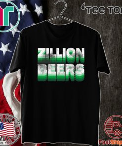 Zillion Beers St. Paddy's Pocket T-Shirt