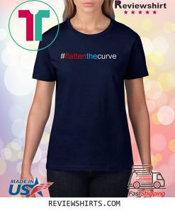 #FlattenTheCurve Flatten The Curve Virus Prevention Shirt