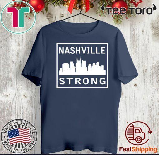 #nashvillestrong 2020 Nashville Strong T-Shirt