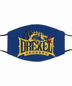 2020 DREXEL DRAGONS CLOTH FACE MASK