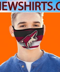 2020 Arizona Coyotes New Face Mask Filter US