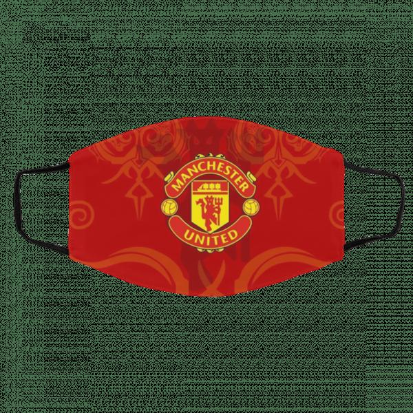 Fan Manchester United Face Mask Logo Mu 2020 Shirtsmango Office