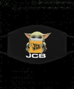 Baby Yoda JCB Cotton Face Mask