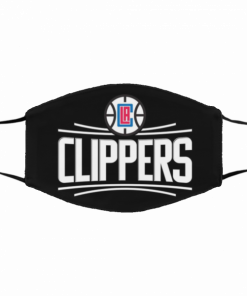 This Is How I Save The World Los Angeles Clippers Cotton Face Mask