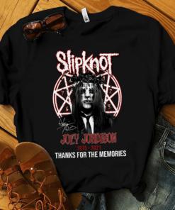 Official Slipknot Joey Jordison 1975 2021 Shirt