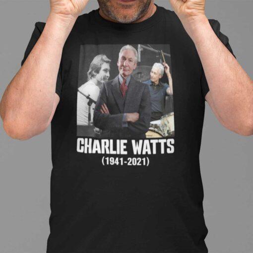 1941- 2021 Charlie Watts T Shirt
