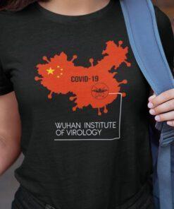 Wuhan Institute Of Virology Chinese Map Shirt